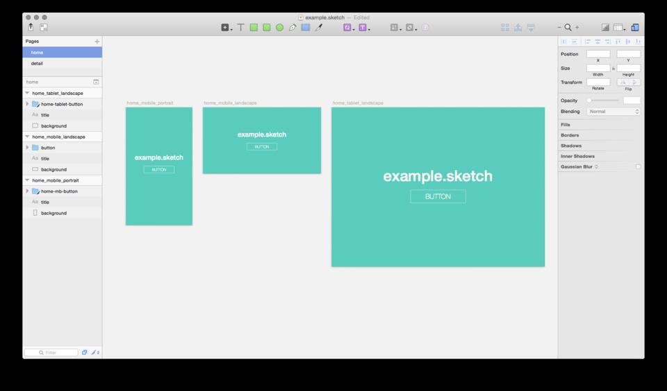 サンプルデザインファイル